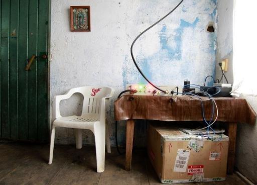Téléphonie: délaissé, un village mexicain crée son propre réseau