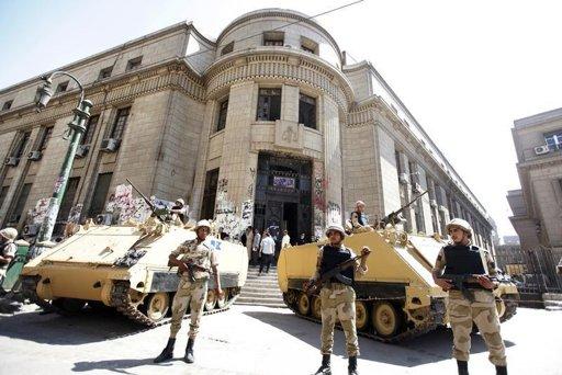 L'armée égyptienne ne prêtera plus allégeance au président