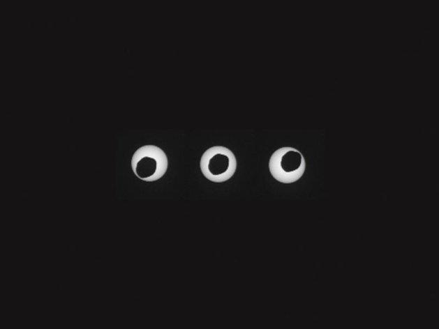 Depuis Mars, le robot Curiosity capte une éclipse solaire