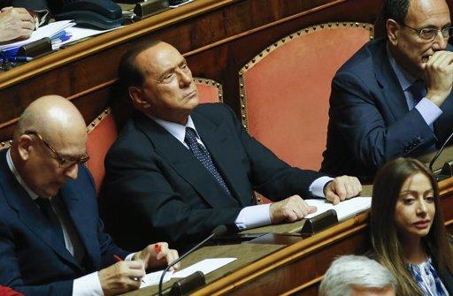 Silvio Berlusconi écarté de la liste des sénateurs à vie