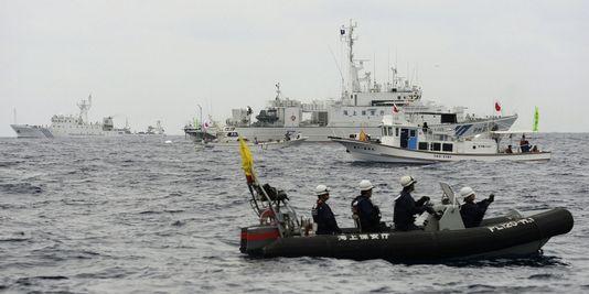 Trois navires chinois dans les eaux territoriales des Senkaku