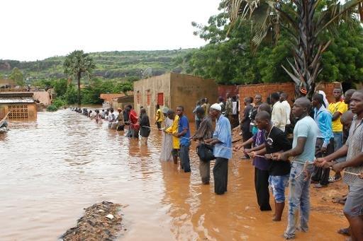 Mali: 34 morts dans les inondations à Bamako