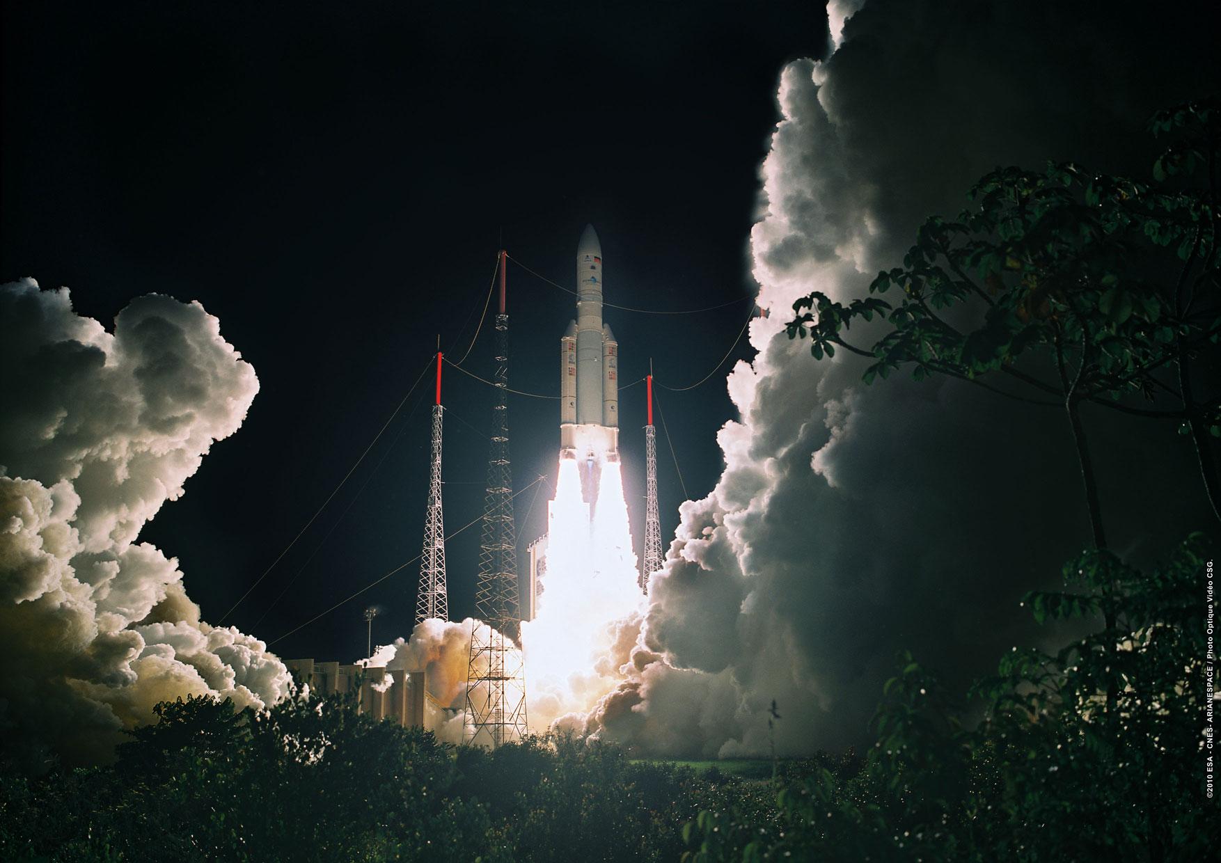 Une 71e mission réussie pour Ariane 5