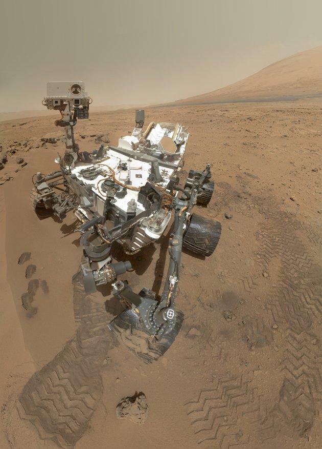 Curiosity déniche du carbone sur Mars