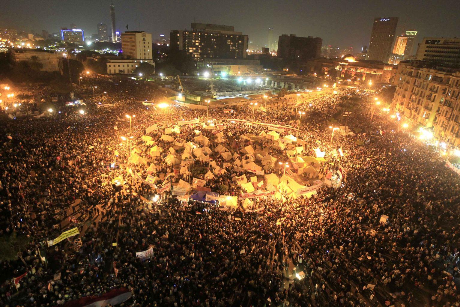 """Le """"oui"""" donné en tête au référendum en Egypte"""