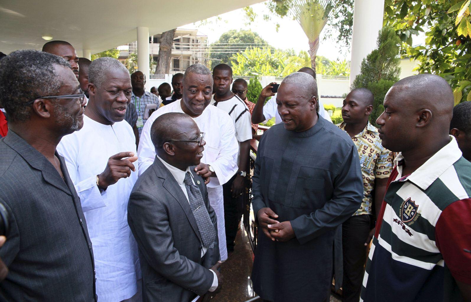 Ghana: le président sortant Mahama vainqueur de la présidentielle