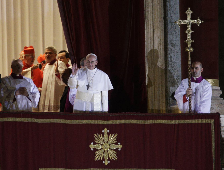 Vatican: l'Argentin Jorge Bergoglio élu pape sous le nom de François Ier