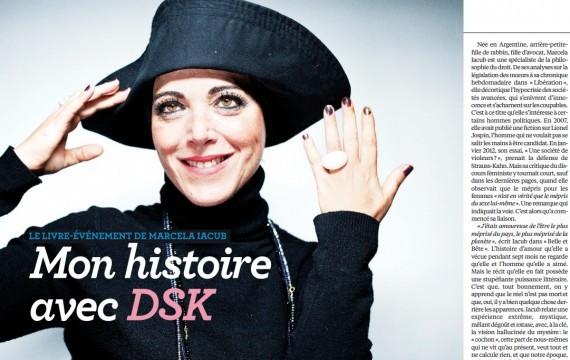 Livre de Marcela Iacub sur DSK : pas d'interdiction, mais un encart
