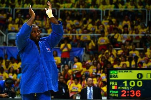 Mondiaux de judo: Teddy Riner grand seigneur