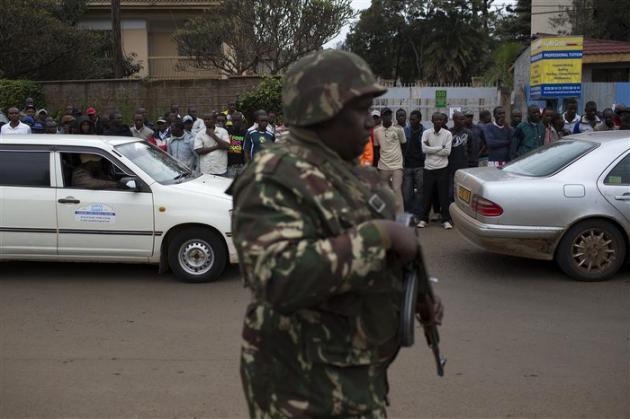 LA PRISE D'OTAGES SE POURSUIT À NAIROBI