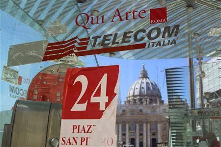 TELECOM ITALIA VA PASSER SOUS LE CONTRÔLE DE TELEFONICA