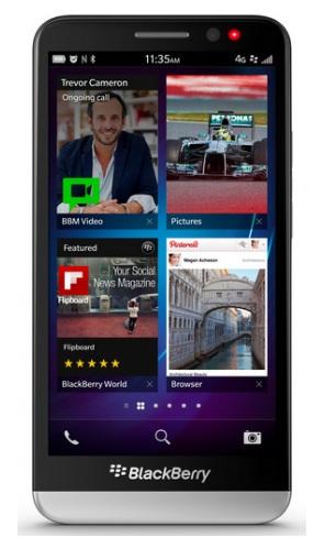 BlackBerry lance son Z30 à écran 5 pouces