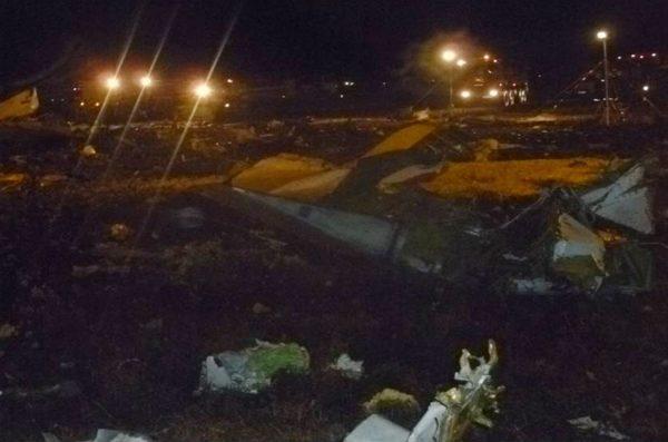APTOPIX Russia Plane Crash