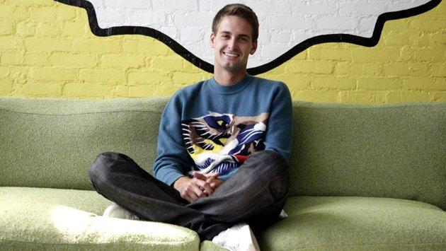 LeFigaro.fr/ Picard, Maurin - Le patron et cocréateur de Snapchat, Evan Spiegel.