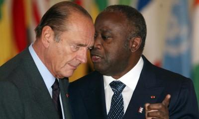 cques Chirac et Laurent Gbagbo, le 23 janvier 2003, lors du sommet de Linas-Marcoussis (France) dédié à la crise en Côte d'Ivoire.AFP/Patrick Kovarik