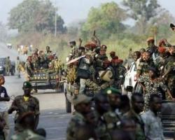 Après avoir reçu les 5 millions de F cfa  plusieurs mutins en fuite, des morts parmi eux